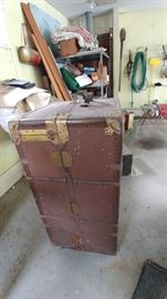 Travel Trunk early 1900's