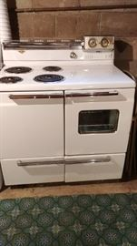 1950's GE Hotpoint electric stove