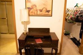 Antique writing desk.