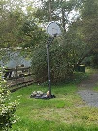 basketball hoop (available at presale)