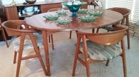 Lovely dining set - mid century Danish Modern