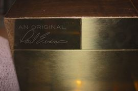 Signed Paul Evans Table