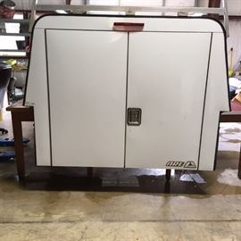 Aluminum ARE utility tool camper top