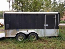 Wells Cargo enclosed trailer