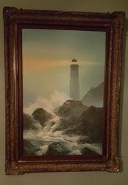 Oil lighthouse