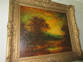 Oil by H M Kitchell