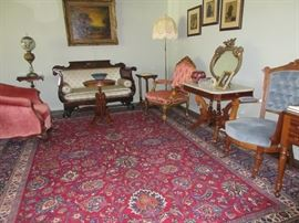 19th century antiques and fine oriental rugs