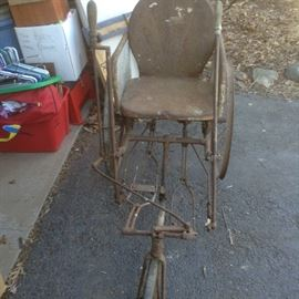 Original 1860's Adult Tri-Cycle