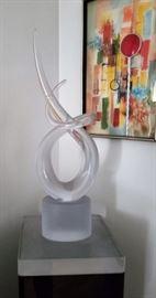 fabulous glass sculpture