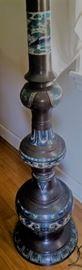 cloisonne floor lamp