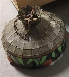 apple chandelier
