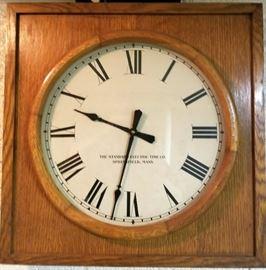 standard electric clock springfield ma