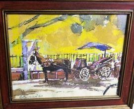 buggy ride yellow