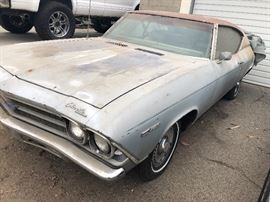 1968 Chevy Chevelle Malibu: New Engine Runs Good - $5,000 with Old Engine with Engine Stand