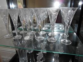 Waterford toasting flutes (Complete Set)