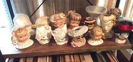 Head Vases