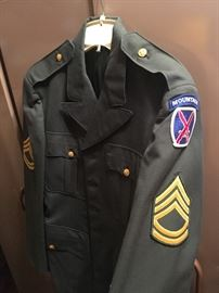 Military Uniforms - more information to come on these