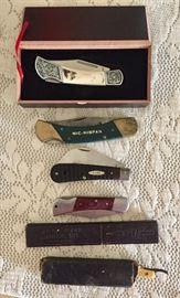 Knives and straight razors