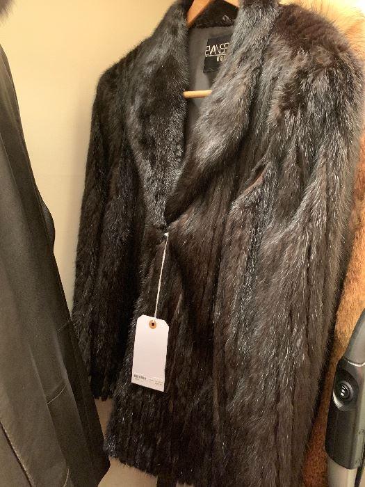 Evans mink coat by Belks