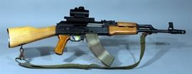 Norinco MAK-90 Sporter Chinese AK-47 Rifle, 7.62x39mm, SN# 94128407, TruGlo Red Dot Scope, Magazine, and Sling