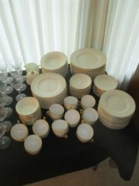Dinnerware, Minton Clifton, Approx. 80 pieces