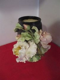 Floral ,pottery