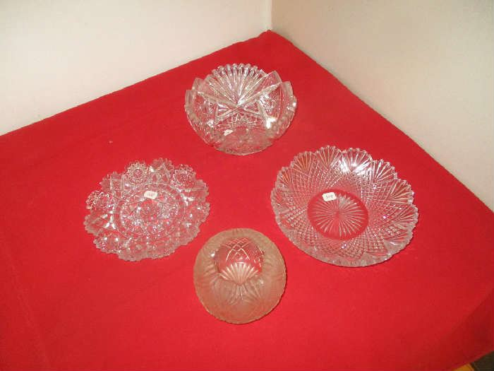 cut and pressed glass