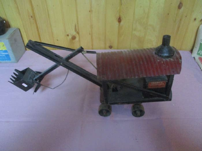 Buddy L Toy Steam Shovel