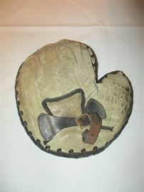Antique baseball glove