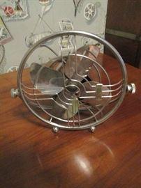 Mid century style table fan