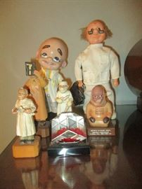Doctor figurines