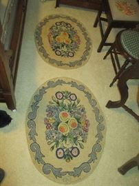 Antique oval rugs