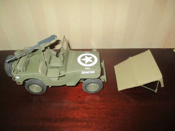 Army Jeep toy car