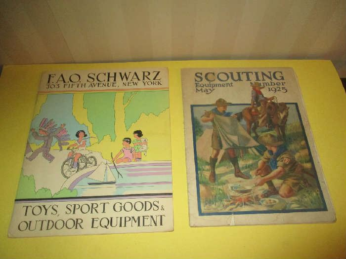 FAO Schwarz catalog, Boy Scouts Catalog 1925