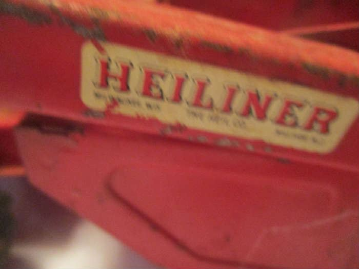 Heiliner antique toy