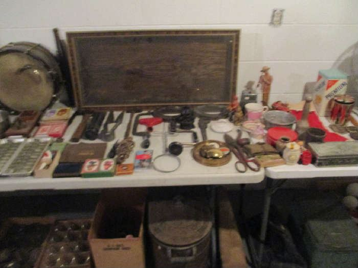 Tools and assorted items