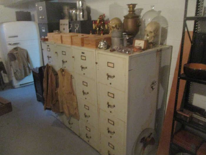 File Cabinets and assorted items