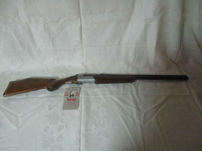 Savage Model 24B 22LR