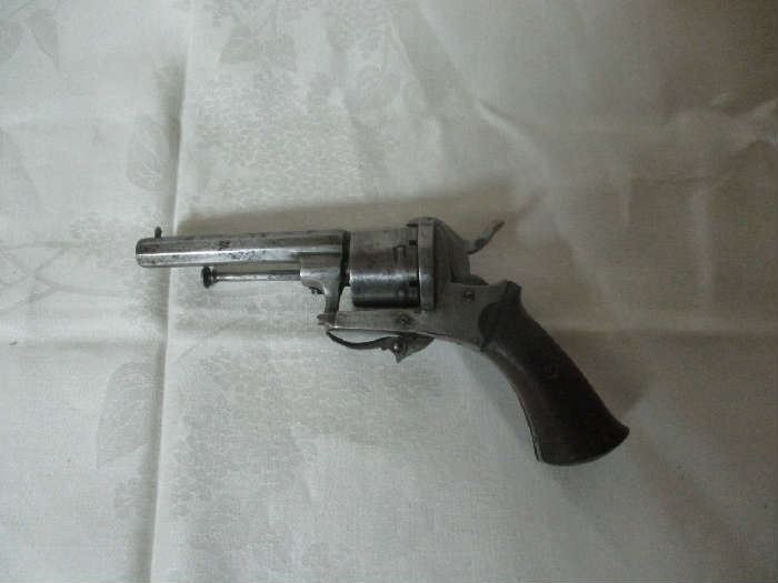 Belgian Revolver Unknown Make