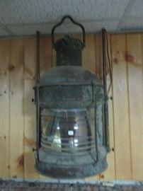 Large ship lantern