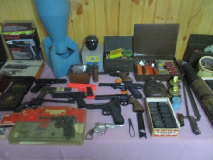 Air guns and gun items