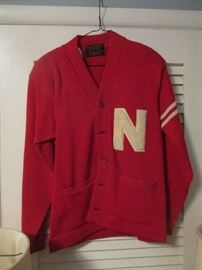 University of Nebraska sweater