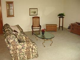 Living room furniture, SUPER clean & organized home