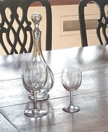 Baccarat - glassware