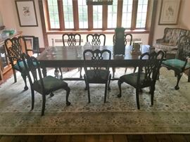 Mahogany Chairs 8 total - 2 Arm - 6 Side Chairs - Very Good Condition