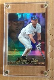 each card looks like this and if I were to grade them 8 +and higher worth a look - call me