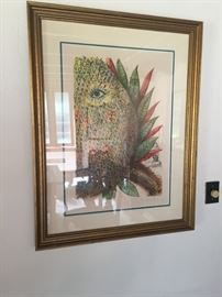 Dali - Pineapple signed and numbered