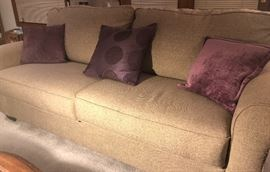 near new sofa