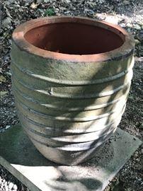 Lovely large terra cotta pots