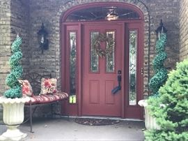 Front door....come on in (on October 11 & 12!)